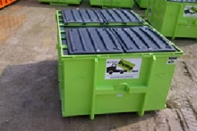 15 Cubic Yard Dumpster with Lid